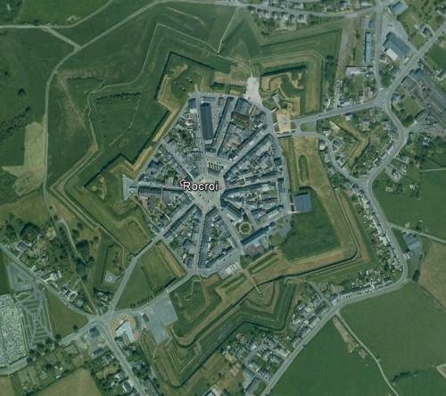 Rocroi - erstellt mit Google Earth
