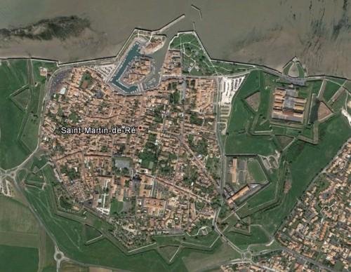 Saint-Martin-de-Ré - erstellt mit Google Earth