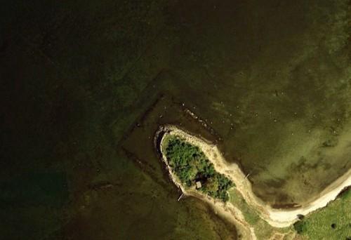 Walfisch - erstellt mit Google Earth