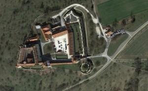Ellwangen. Quelle: Google Earth.