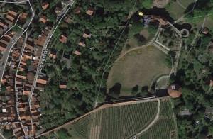 Esslingen. Quelle: Google Earth.