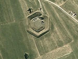 Gersbacher Schanze. Quelle: Google Earth.