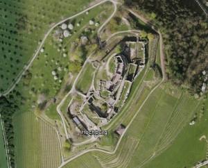 Hochburg (Emmendingen). Quelle: Google Earth.