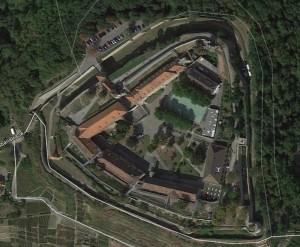 Hohenasperg. Quelle: Google Earth.