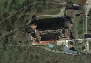 Langenburg. Quelle: Google Earth.