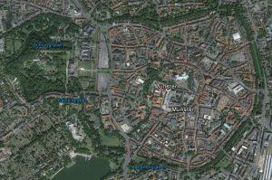 Münster heute. Quelle: Google Earth.