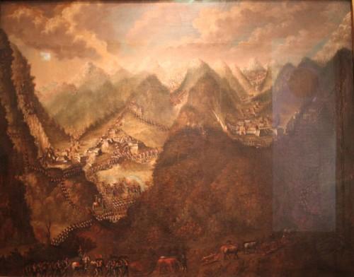 Gemälde der Kämpfe 1805. Exemplar aus dem DHM Berlin