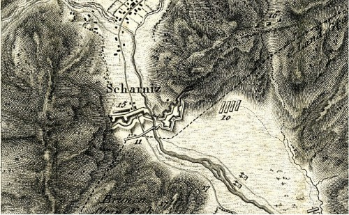Detail der Kämpfe um die Porta Claudia 1805