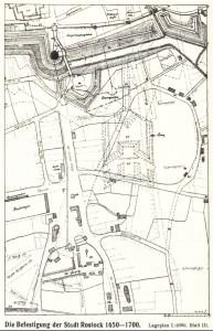 Skizze von Lorenz zur Konterfestung