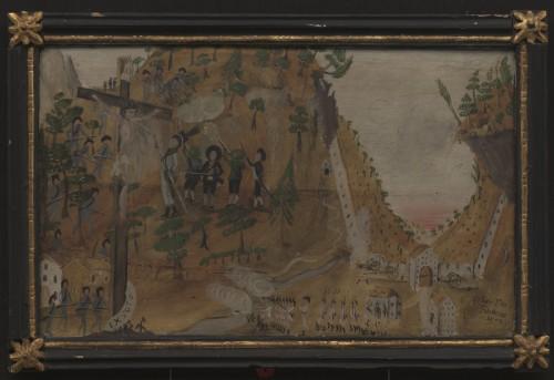 Rückzug der Sautenser Schützen 1805