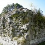 Mauerstruktur am Pulvermagazin