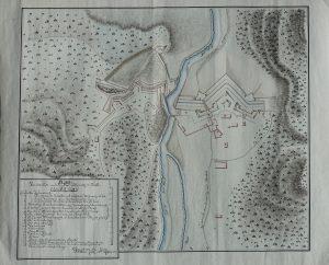 Neuer Plan der Scharnitz, vermutl. um 1800. Zur Verfügung gestellt von C. Tenreiter.
