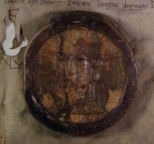 Friedrich I. Barbarosssa, 1158 (NA, AČK, Inv. No. 1)
