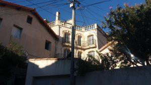Rue Abovian, maison de ville aux airs de petit palais italien