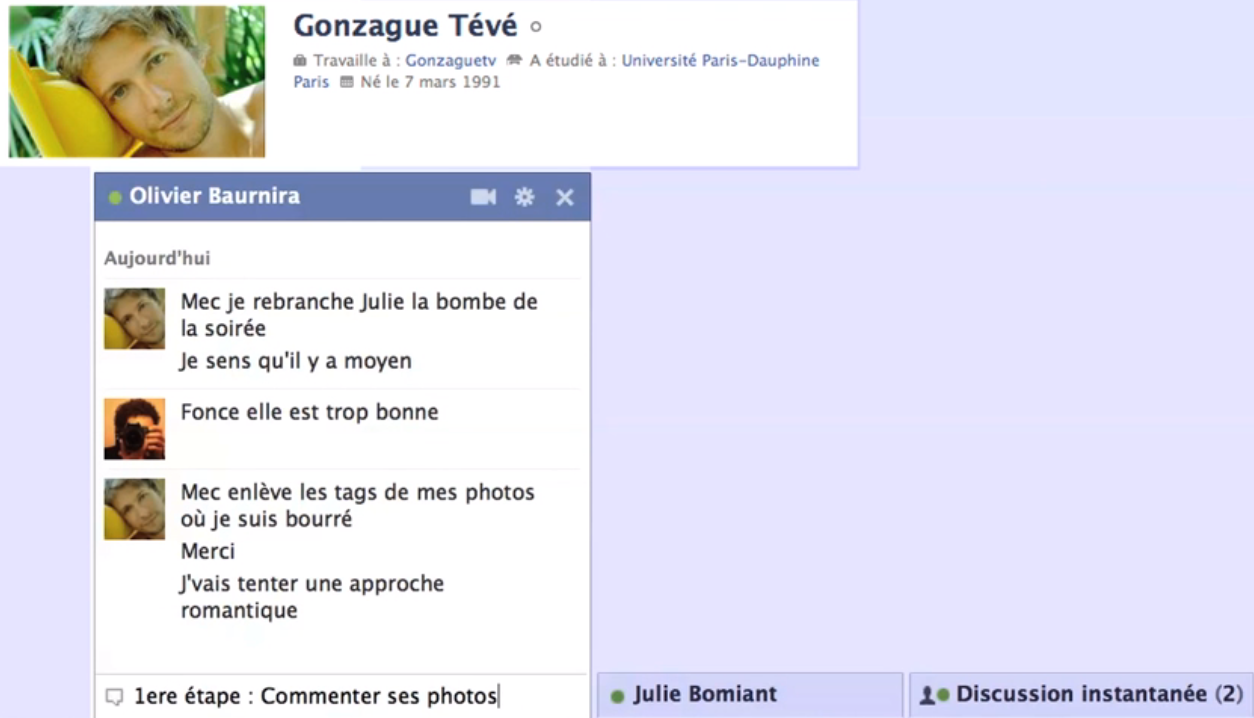Comment rencontrer fille facebook