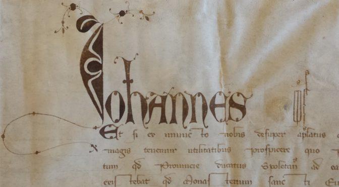 Lettres originales de Jean XXII