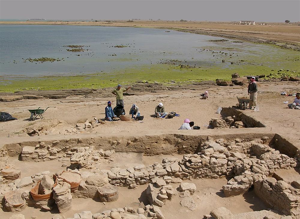 Fig. 3 : le site d'al-Khidr fouillé par la Kuwaiti-Slovak Archaeological Mission (KSAM 2007)