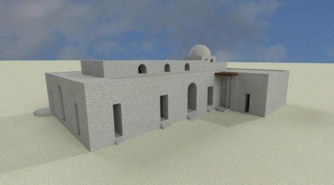 Entre enquête scientifique et imagination : produire une image tridimensionnelle de l'église d'al-Qusur (Faïlaka, Koweït)