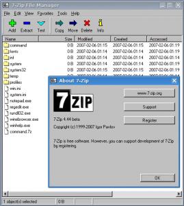 7-Zip Wine Ubuntu.png LGPL