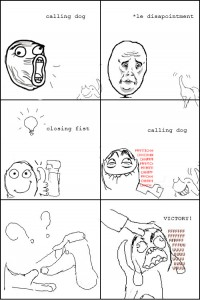 My own rage comic, about a dog, Wout 159 CC BY SA 3.0
