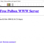 Wayback Machine, Internet Archive, https://web.archive.org/web/19980208082551/http://free.polbox.pl/raport7.html