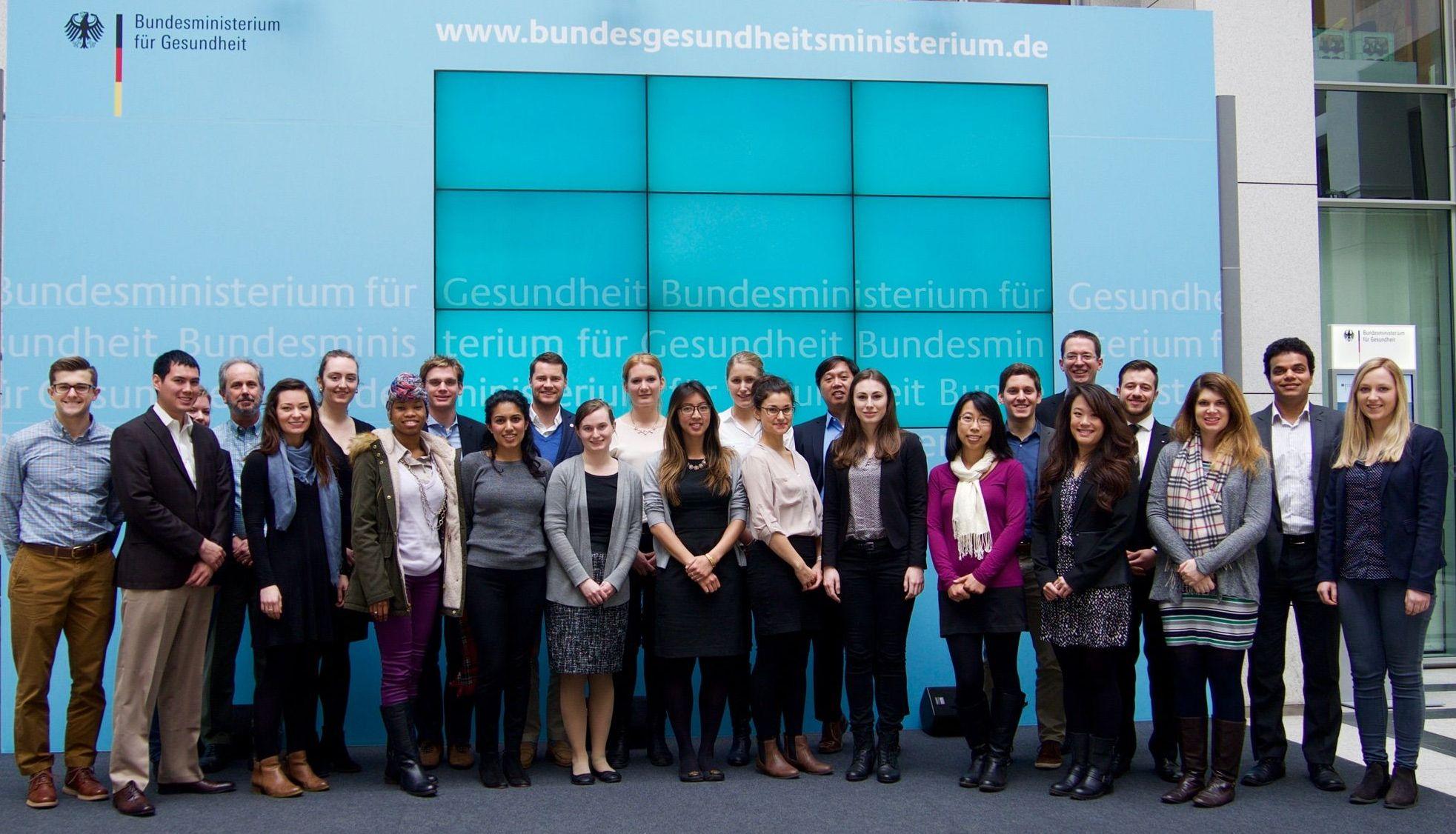 Zu Gast im Bundesministerium für Gesundheit in Berlin.