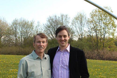 Prof. Keeney und Dr. Siebert - Foto: Jonas Föhr