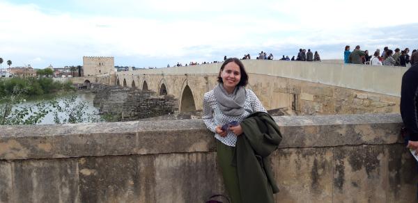Nicoleta Dvornicov in Südspanien