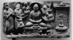 Fig. 12 : Musée de Peshawar. Photo Huntington Archives.