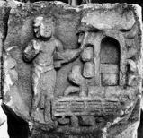 Fig. 2 : Bodh-Gayā, Ier s. av. J.-C. Photo AIIS.