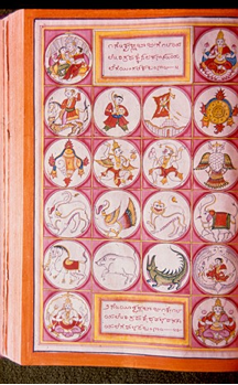Fig. 2 : Kautukanidhi, 14x24 cm. Photo Ramsons Kala Pratishtana, Mysore