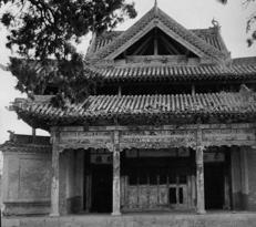 Fig. 2 : Théâtre du temple Dongyuemiao - Shanxi - époque Yuan