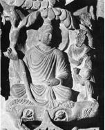 Fig. 24 : Détail de la Terre Pure, prov. Mohammed Nari, musée de Lahore. Photos Huntington Archives.