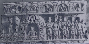 Fig. 9 : Mathurā (d'après Vogel, 1930, pl. LIII b).