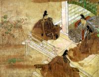 """Ill. 1: Le rouleau de peinture du """"Roman du Hazuki"""""""