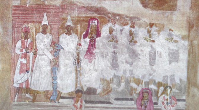 """""""Les peintures murales de Doura-Europos : sources de l'histoire religieuse de la ville et objets d'art"""" par Mathilde Couronné"""