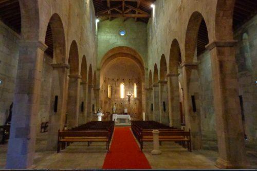 Figure 12. Santa Maria Assunta de Mariana (Lucciana, Corse), vue générale de la nef vers l'est.