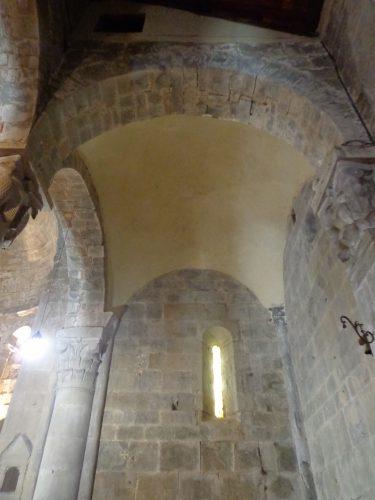 Figure 2. San Pietro a Gropina (Loro Ciufenna, Toscane, Italie), travée orientale sud