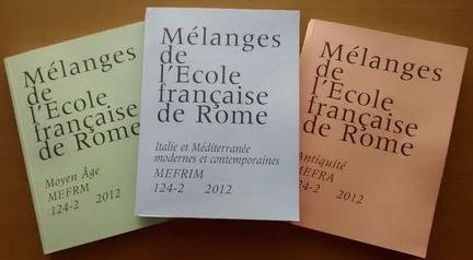 """A. GIRARD et B. SCHMITZ, """"De l'Eglise aux Eglises"""", MEFRIM"""