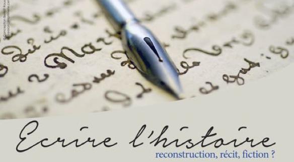 Journée d'étude CIRLEP – Ecrire l'histoire, reconstruction, récit, fiction ?