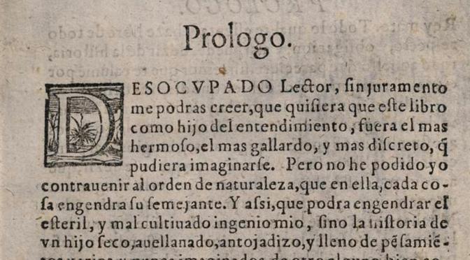 Conférence : Cervantes, une vie dans l'Espagne du Siècle d'Or