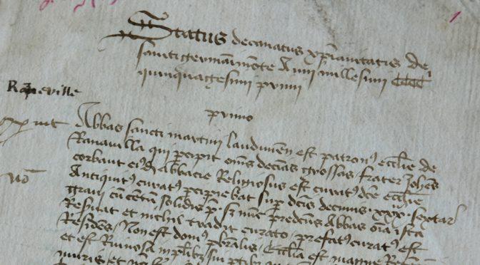 """Colloque """"Doyens et archiprêtres"""", 3-4 juin"""