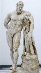 """Le """"vrai"""" Héraclès Farnese, de 500 ans plus jeune que l'original."""