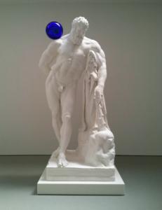 Jeff Koons, Gazing Ball (Farnese Hrrcules), 2013.