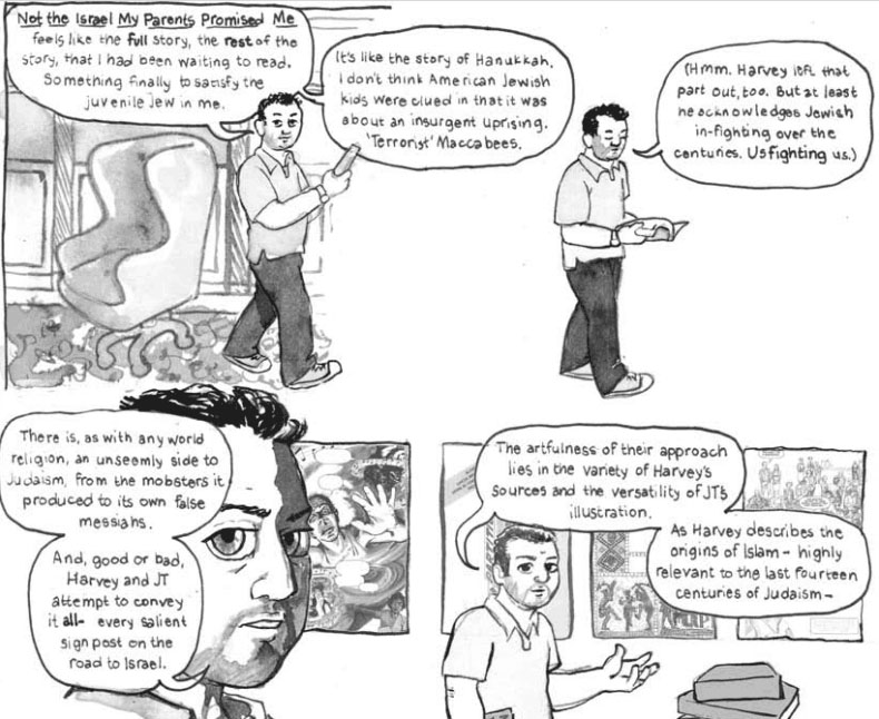 "A Review of ""Not the Israel My Parents Promised Me"" By A. David Lewis (author) and Miriam Libicki (illustrator), August 27, 2012"