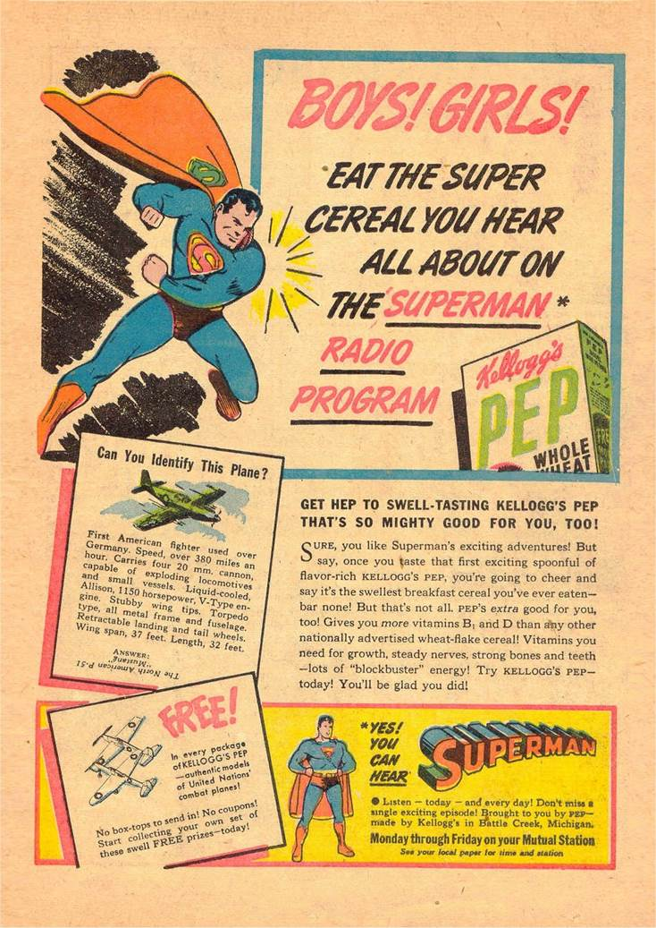 Superman n°27, mars-avril 1944