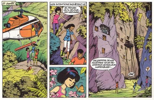 Roger Leloup, La Spirale du temps (1981), page 24, dernier strip