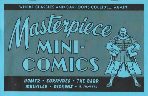 Masterpiece mini-comics, suite auto-publiée de Masterpiece Comics.