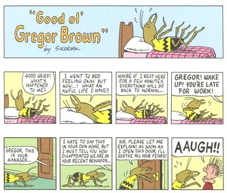 """Good Ol' Gregor Brown"", paru à l'origine dans Raw (1989)"