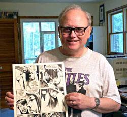 John Workman, photographie de Todd Klein en juin 2015 (le lien renvoie vers son site)